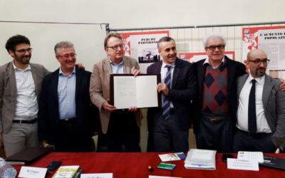Firmato a Villafrati, Palermo, il protocollo di intesa per il patto di gemellaggio tra il MiM Belluno e il Museo delle Spartenze dell'area di Rocca Busambra