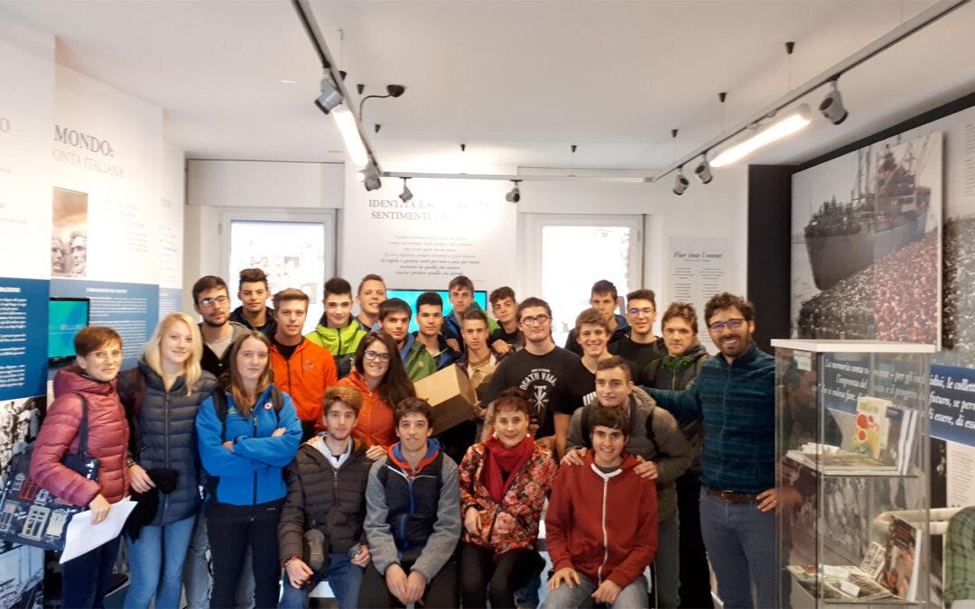 L'Istituto Agrario di Vellai in visita al MiM Belluno – Museo interattivo delle Migrazioni