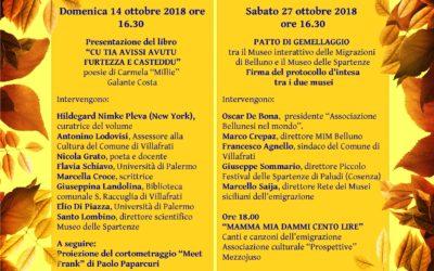 Protocollo di intesa per il Patto di gemellaggio tra il MiM Belluno e il Museo delle Spartenze
