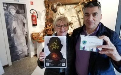 """Da Liegi i primi visitatori del MiM per provare la nuova esperienza immersiva a 360 gradi """"Le miniere"""""""